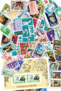 100 different New Hebrides packet